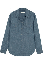 Sila cotton-chambray shirt