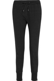 Kurtis linen-jersey tapered pants