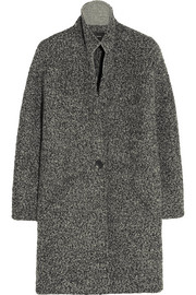 Daryl oversized boucl� coat