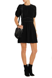 Wana stretch-crepe mini dress