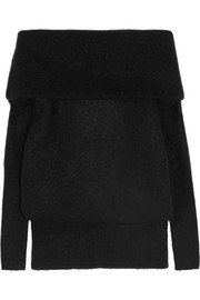 Acne Studios Off-the-shoulder knitted sweater
