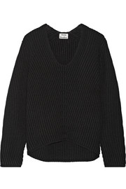 Deborah ribbed wool sweater