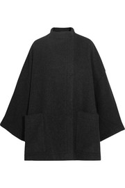 Alden oversized alpaca and wool-blend coat