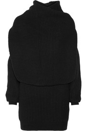Jamal ribbed wool sweater dress