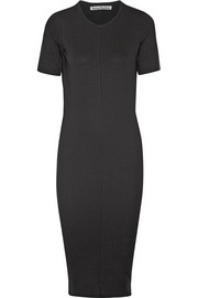 Acne Studios Visit stretch-jersey midi dress