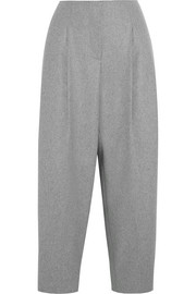 Acne Studios Murol Raw wool-blend felt wide-leg pants