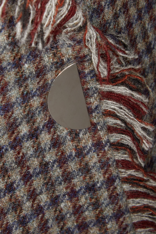 Acne Studios Checked wool-tweed blazer