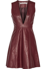 Lavern leather dress