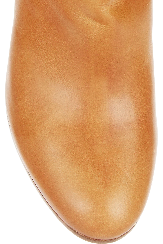 Maison Margiela Leather knee boots
