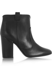 Pete leather ankle boots