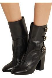 Merli buckled leather boots