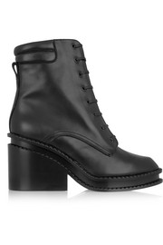 Warti leather ankle boots