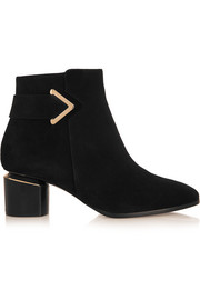 Nicholas Kirkwood Brannagh suede ankle boots