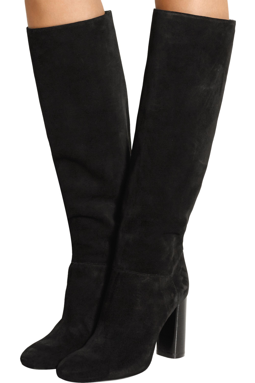 Lanvin Suede knee boots