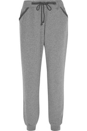 Evolve brushed cotton-blend pajama pants