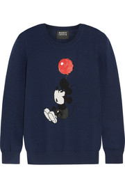 + Disney� Up And Away Vintage Mickey sequined merino wool sweater