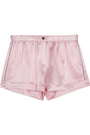 Arthur silk-satin pajama shorts
