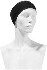 Fleece-lined jersey headband
