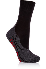 RU3 stretch-knit running socks