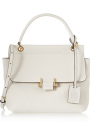 Lanvin Essential small textured-leather shoulder bag