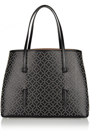 Alaïa Arabesque small studded leather tote