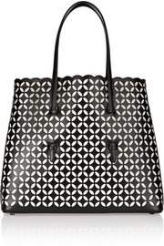 Alaïa Petal laser-cut leather tote