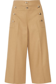 Sacai Luck wool wide-leg culottes