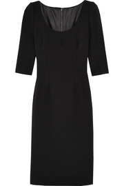 Dolce & Gabbana Stretch-wool dress