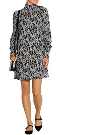 Dolce & Gabbana Printed crepe mini dress