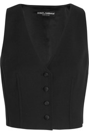 Dolce & Gabbana Stretch-wool vest