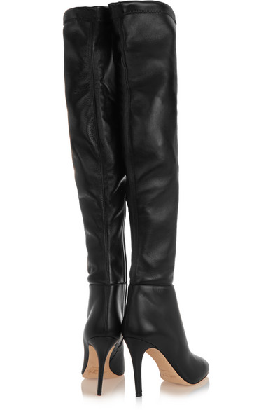 15aa1d6c77 Jimmy Choo | Toni stretch-leather over-the-knee boots | NET-A-PORTER.COM