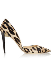 Jimmy Choo Darylin leopard-print calf hair pumps