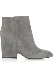 Myth suede ankle boots