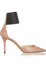 Trinny leather pumps