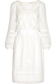 Vanessa Bruno Denmark embroidered cotton dress