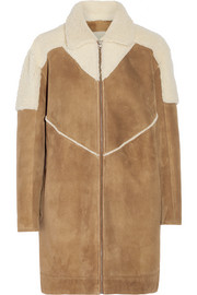 Tempoly reversible shearling coat