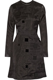 Roksanda Seymor embellished silk and wool-blend organza mini dress