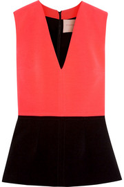 Roksanda Melis stretch-cady peplum top