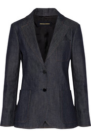 Abel stretch-denim blazer