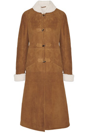 Abaca shearling coat