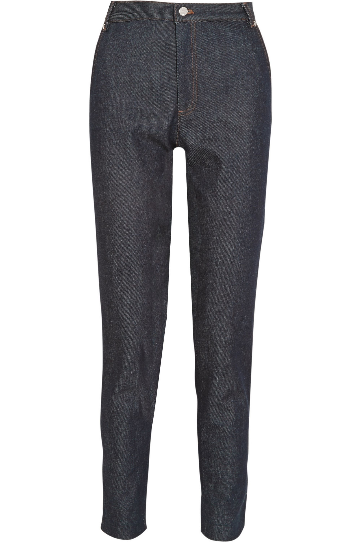 Vanessa Seward Victoire high-rise slim-leg jeans