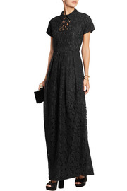 Carven Guipure lace gown