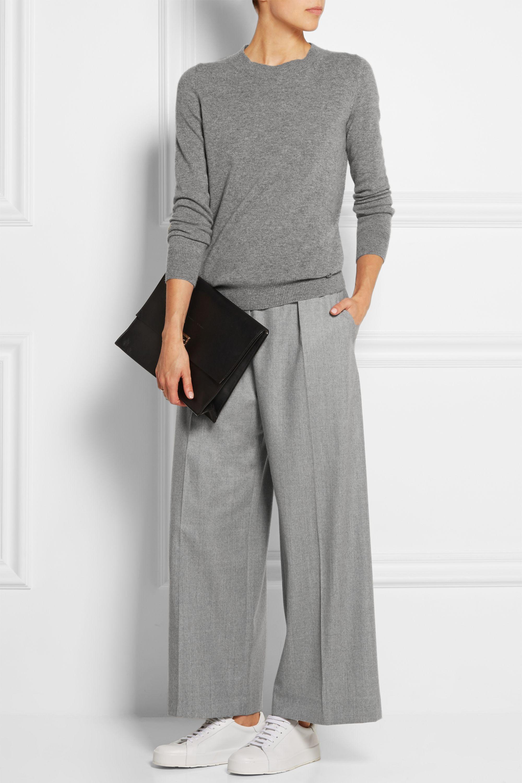 Carven Wool wide-leg pants