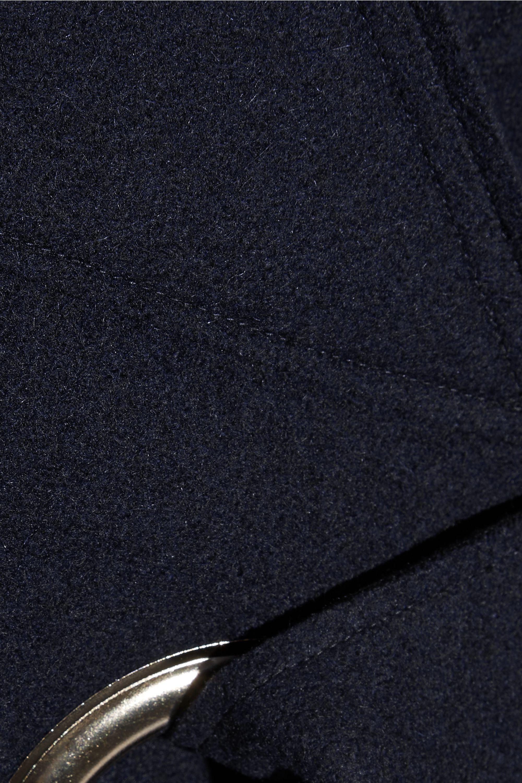 Jacquemus Oversized belted wool-felt coat