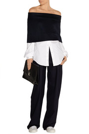 Jacquemus Pleated wool wide-leg pants