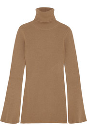 Stella McCartney Ribbed wool turtleneck sweater