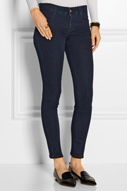Stella McCartney The Skinny Ankle Grazer mid-rise jeans