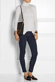 The Skinny Ankle Grazer mid-rise jeans