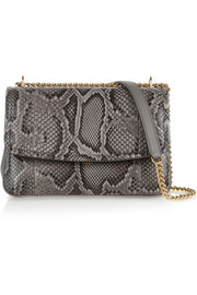 Dolce & Gabbana Margarita python and leather shoulder bag
