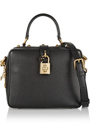 Dolce & Gabbana Rosaria mini textured-leather shoulder bag